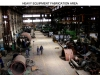 Heavy Equipment Fabrication Area