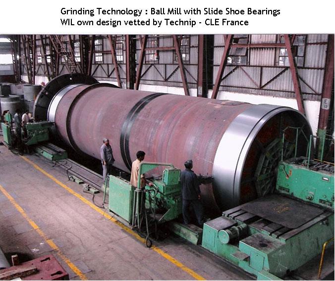 Roller Mill Cement Balls : Walchandnagar industries